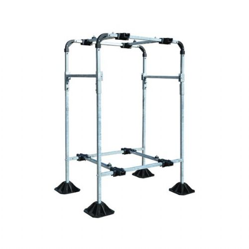 BBJ Big Foot Unit Roof System Lock 'n' Load Tower Frame Single For HVAC, Solar And Access